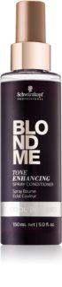 Schwarzkopf Professional Blondme après-shampoing sans rinçage pour des blonds froids parfaits