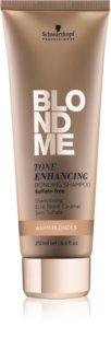 Schwarzkopf Professional Blondme Sulphate-Free Shampoo For Warm Blonde