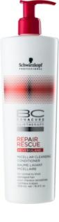 Schwarzkopf Professional BC Bonacure Repair Rescue почистващ мицеларен балсам за увредена коса