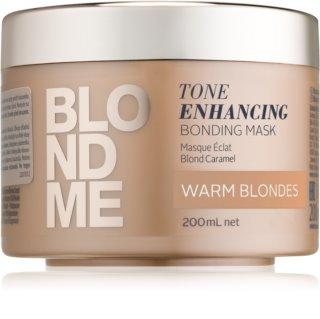 Schwarzkopf Professional Blondme Maske mit ernährender Wirkung für warme Blondtöne