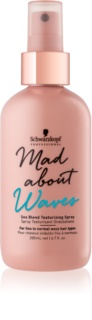 Schwarzkopf Professional Mad About Waves spray définition des boucles