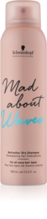 Schwarzkopf Professional Mad About Waves Dry Shampoo For Wavy Hair