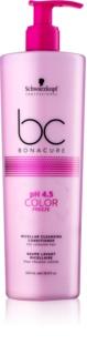 Schwarzkopf Professional pH 4,5 BC Bonacure Color Freeze condicionador micelar de limpeza para cabelo pintado