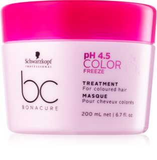 Schwarzkopf Professional PH 4,5 BC Bonacure Color Freeze maszk festett hajra