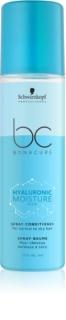 Schwarzkopf Professional BC Bonacure Moisture Kick Hydraterende Conditioner Spray  voor Normaal tot Droog Haar