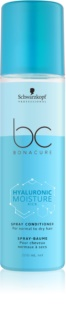 Schwarzkopf Professional BC Bonacure Moisture Kick Moisturising Conditioner in Spray For Normal To Dry Hair