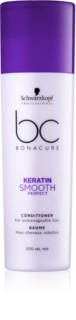 Schwarzkopf Professional BC Bonacure Smooth Perfect condicionador para cabelo rebelde
