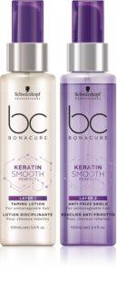 Schwarzkopf Professional BC Bonacure Keratin Smooth Perfect dvofazni serum za neposlušnu i anti-frizz kosu