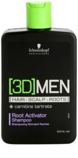 Schwarzkopf Professional [3D] MEN Shampoo To Activate Roots