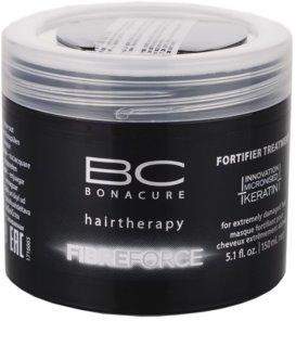 Schwarzkopf Professional BC Bonacure Fibreforce Maske Für extrem strapaziertes Haar