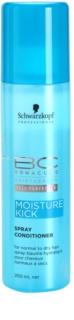 Schwarzkopf Professional BC Bonacure Moisture Kick балсам под формата на спрей за нормална към суха коса