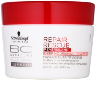 Schwarzkopf Professional BC Bonacure Repair Rescue Deep Nourishing Treatment For Damaged Hair