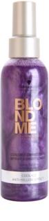Schwarzkopf Professional Blondme bezoplachový kondicionér ve spreji pro studené odstíny blond