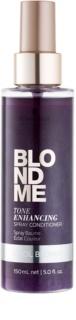 Schwarzkopf Professional Blondme odżywka w sprayu do zimnych odcieni blond