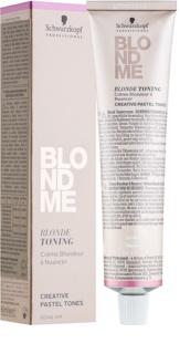 Schwarzkopf Professional Blondme тонуючий крем для освітленого волосся