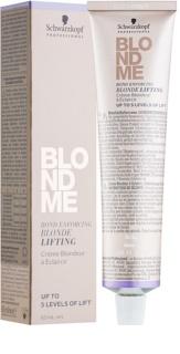 Schwarzkopf Professional Blondme rozjaśniacz w krem do włosów blond