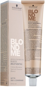 Schwarzkopf Professional Blondme Lightening Cream for Covering White Hair