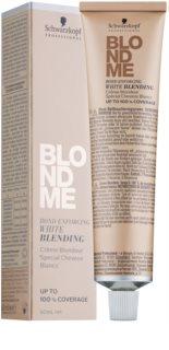 Schwarzkopf Professional Blondme Cremă de lustruire pentru acoperirea părului alb