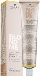 Schwarzkopf Professional Blondme élénkítő krém