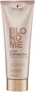 Schwarzkopf Professional Blondme creme de clareamento sem amônia para cabelo loiro e grisalho