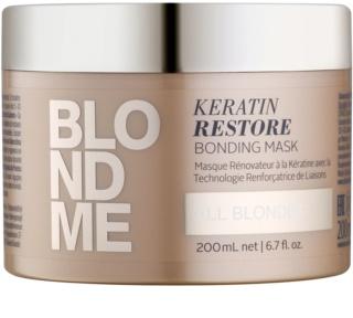 Schwarzkopf Professional Blondme masque rénovateur pour toutes les nuances de blond