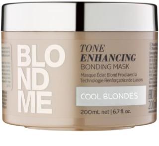 Schwarzkopf Professional Blondme masque nourrissant cheveux pour nuances de blond froides