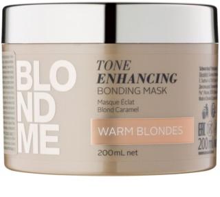 Schwarzkopf Professional Blondme подхранваща маска  за топли руси нюанси на косата