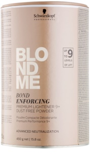 Schwarzkopf Professional Blondme rozjaśniacz w proszku premium 9+ bezpyłowy