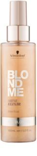 Schwarzkopf Professional Blondme elixir sin aclarado para proporcionar un brillo intenso para todos los tonos rubios