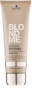 Schwarzkopf Professional Blondme obnovující šampon s keratinem pro všechny typy blond vlasů