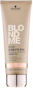 Schwarzkopf Professional Blondme szampon bez sulfatów do ciepłych odcieni blond