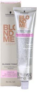 Schwarzkopf Professional Blondme Color krem tonujący