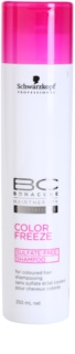 Schwarzkopf Professional BC Bonacure Color Freeze shampoing sans sulfates pour cheveux colorés