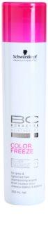 Schwarzkopf Professional BC Bonacure Color Freeze šampon se stříbrnými reflexy pro blond a šedivé vlasy