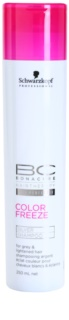 Schwarzkopf Professional PH 4,5 BC Bonacure Color Freeze Shampoo With Silver Reflexes For Blonde And Gray Hair