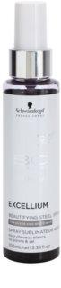 Schwarzkopf Professional BC Bonacure Excellium Beautifying Spray met Staal Pigmenten voor Herstel en Kleur Verzachting van Wit en Zilver Haar