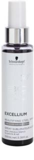 Schwarzkopf Professional BC Bonacure Excellium Beautifying spray aux pigments d'acier pour revitaliser et adoucir les cheveux blancs ou poivre & sel