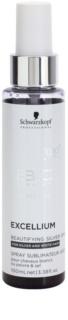 Schwarzkopf Professional BC Bonacure Excellium Beautifying sprej se stříbrnými pigmenty pro oživení a zjemnění barvy  bílých a stříbrných vlasů
