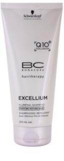 Schwarzkopf Professional BC Bonacure Excellium Plumping szampon do włosów delikatnych, dojrzałych