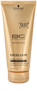 Schwarzkopf Professional BC Bonacure Excellium Taming Shampoo für sprödes und reifes Haar