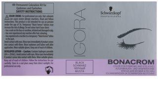 Schwarzkopf Professional Igora Bonacrom Färbung für Wimpern und Brauen mit Aktivator