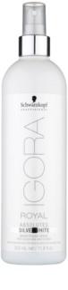 Schwarzkopf Professional IGORA Royal Absolutes SilverWhite élénkítő spray a hajszín kiemelésére