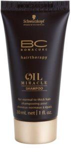 Schwarzkopf Professional BC Bonacure Oil Miracle Argan Oil Shampoo für normales bis dichtes Haar