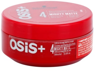 Schwarzkopf Professional Osis+ Mighty Matte Mattifying Cream Ultra Strong Fixation