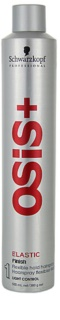 Schwarzkopf Professional Osis+ Elastic Finish lak na vlasy pre prirodzenú fixáciu