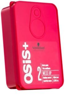 Schwarzkopf Professional Osis+ Mess Up mattirende Paste mittlere Fixierung