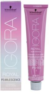 Schwarzkopf Professional IGORA Royal Pearlescence pastellfarbene Haarcolorierung