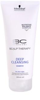 Schwarzkopf Professional BC Bonacure Scalp Therapy globinsko čistilni šampon za mastno lasišče