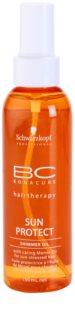 Schwarzkopf Professional BC Bonacure Sun Protect huile pailletée pour cheveux exposés au soleil
