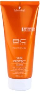 Schwarzkopf Professional BC Bonacure Sun Protect Schützendes Shampoo für von der Sonne überanstrengtes Haar